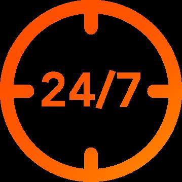 24/7 CallControl Icon