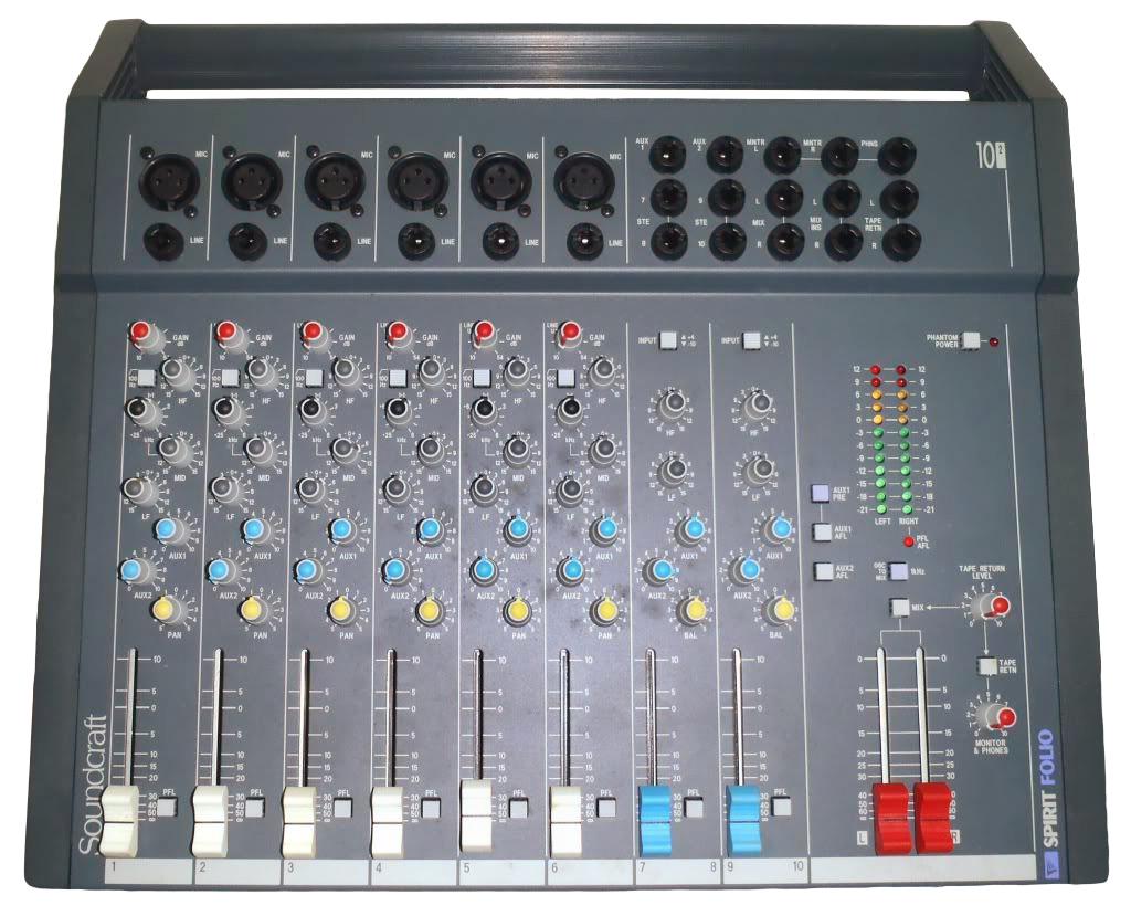 Soundcraft Spirit Folio Mixer