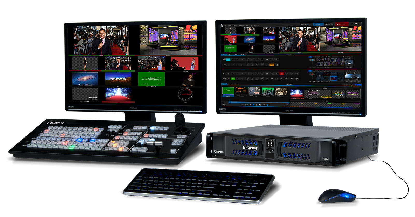 Newtek TriCaster 460 and CS