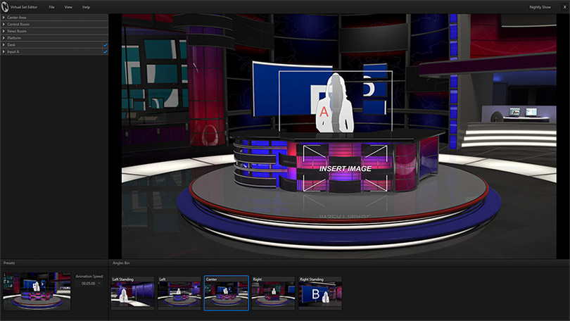 Newtek Virtual Set Editor PC
