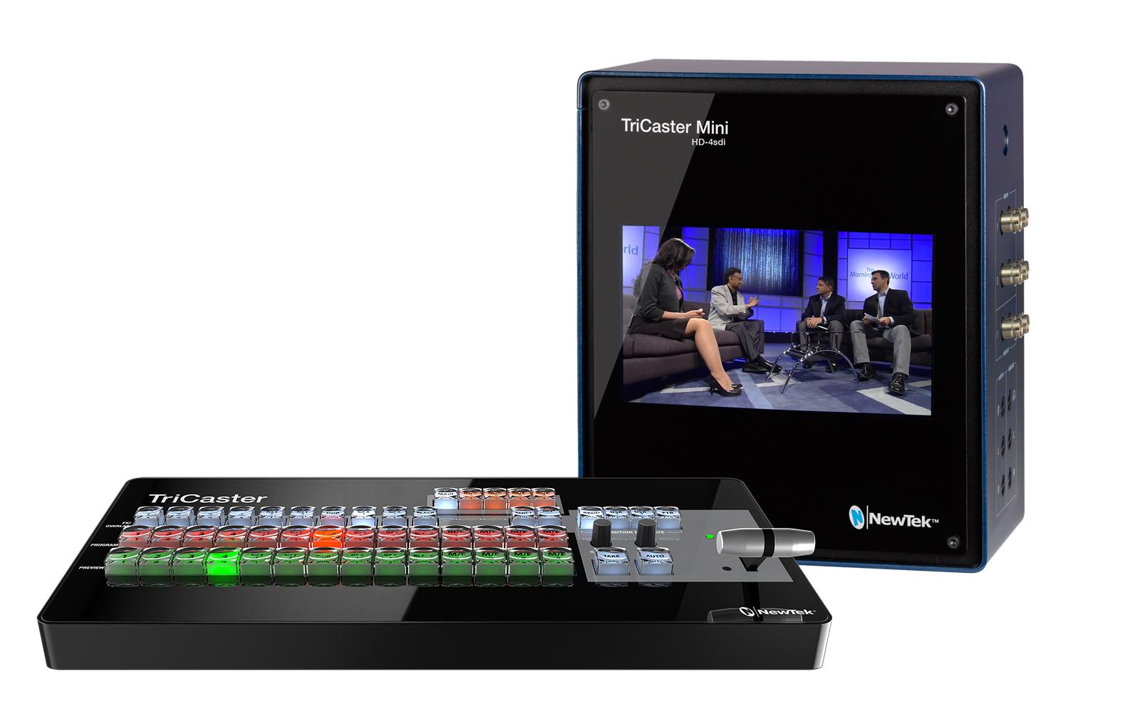 Newtek TriCaster Mini HD-4 SDI Bundle