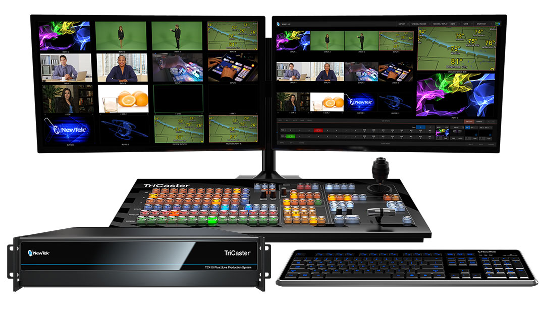 Newtek Tricaster 410 Plus Bundle