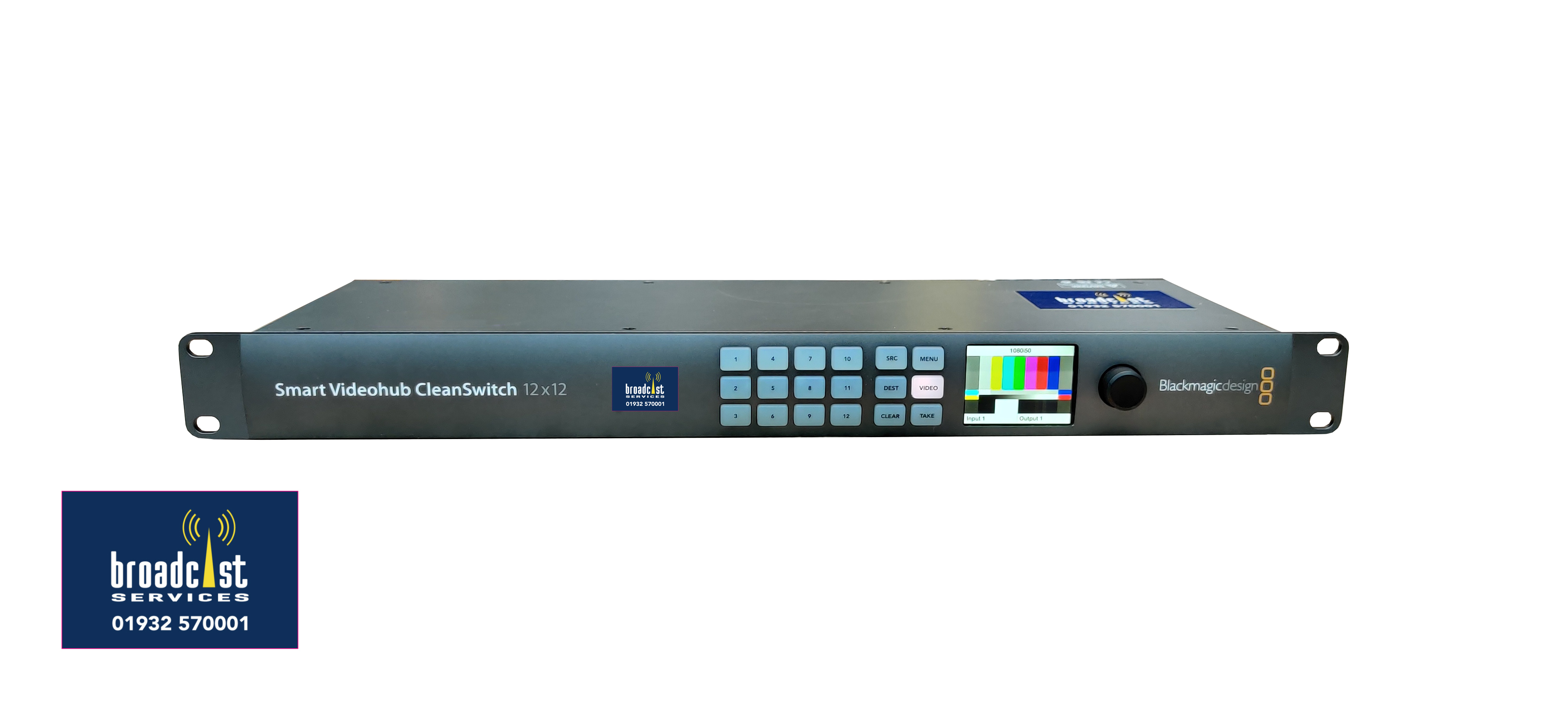 Blackmagic Smart VideoHub Cleanswitch 12 x 12