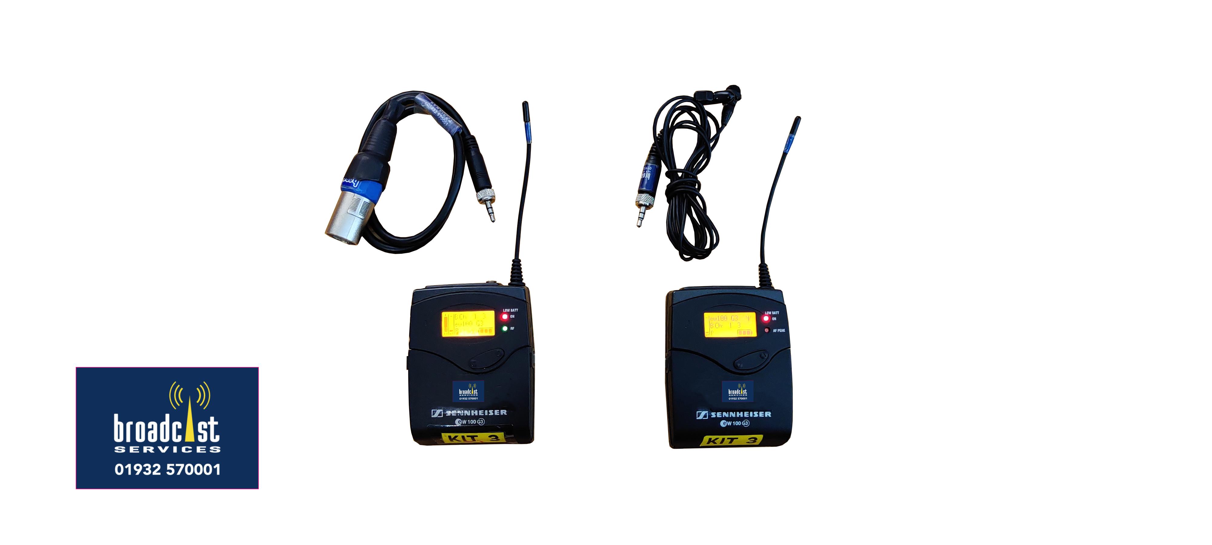 Sennheiser EK100 G3 Tie Clip Radio Mic