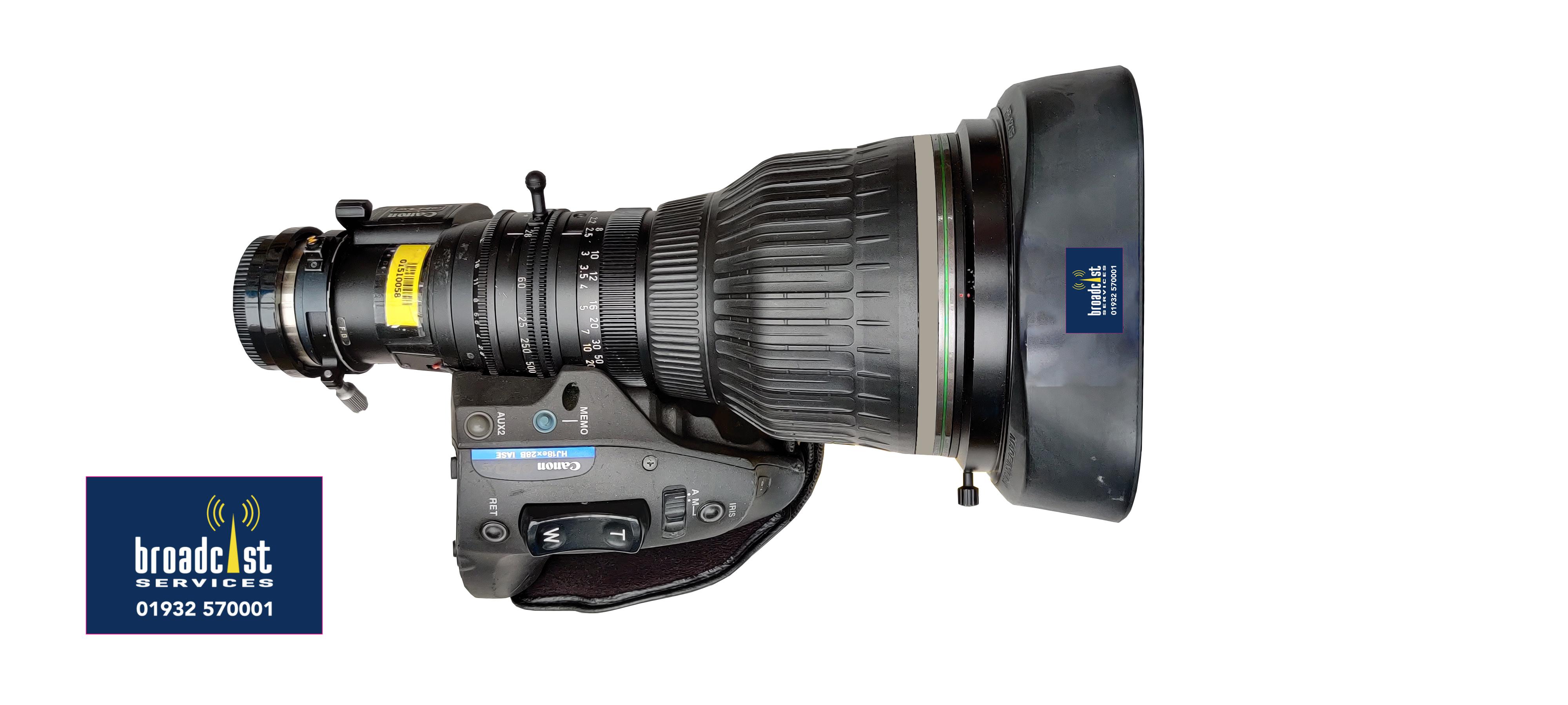 Canon HJ18e x 28B  IASE