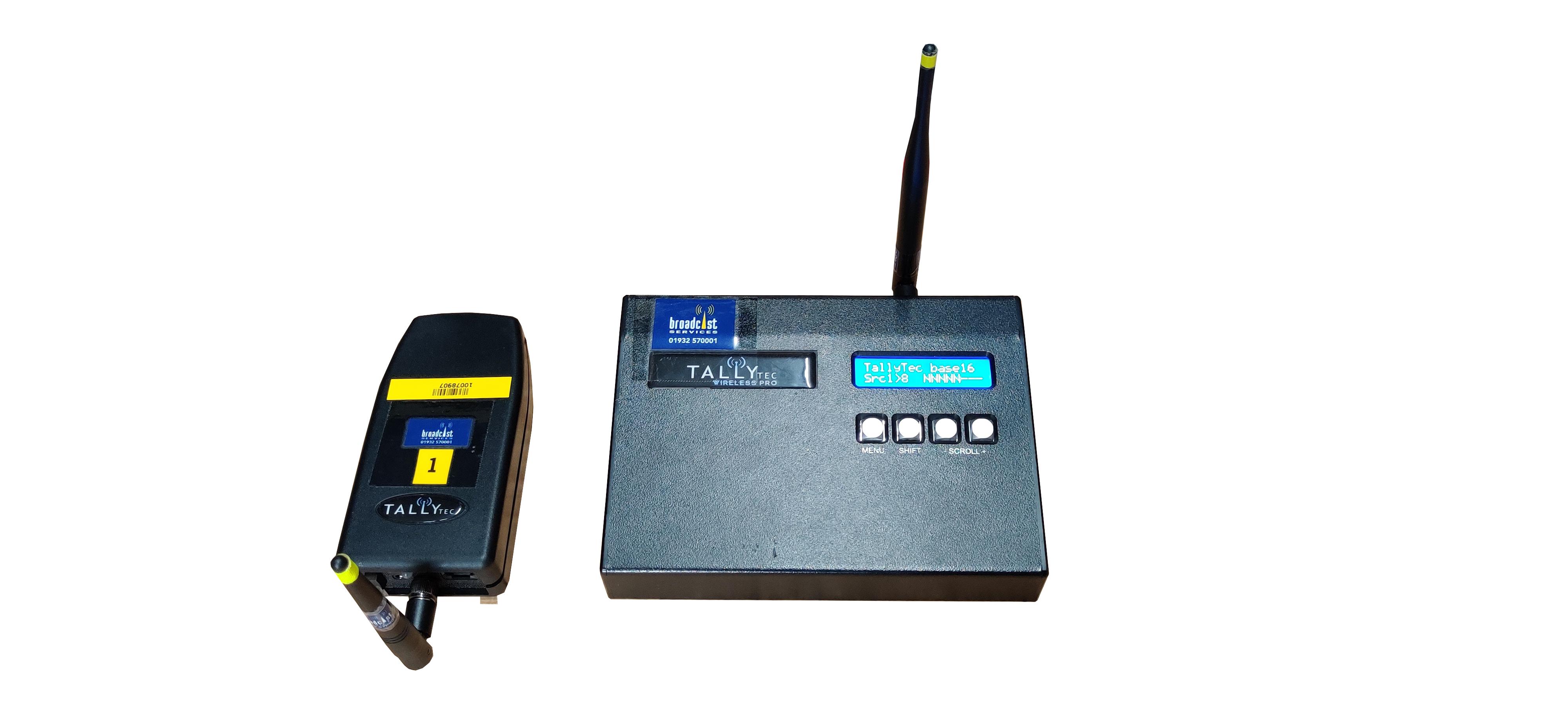 Tally Ho! Wireless System