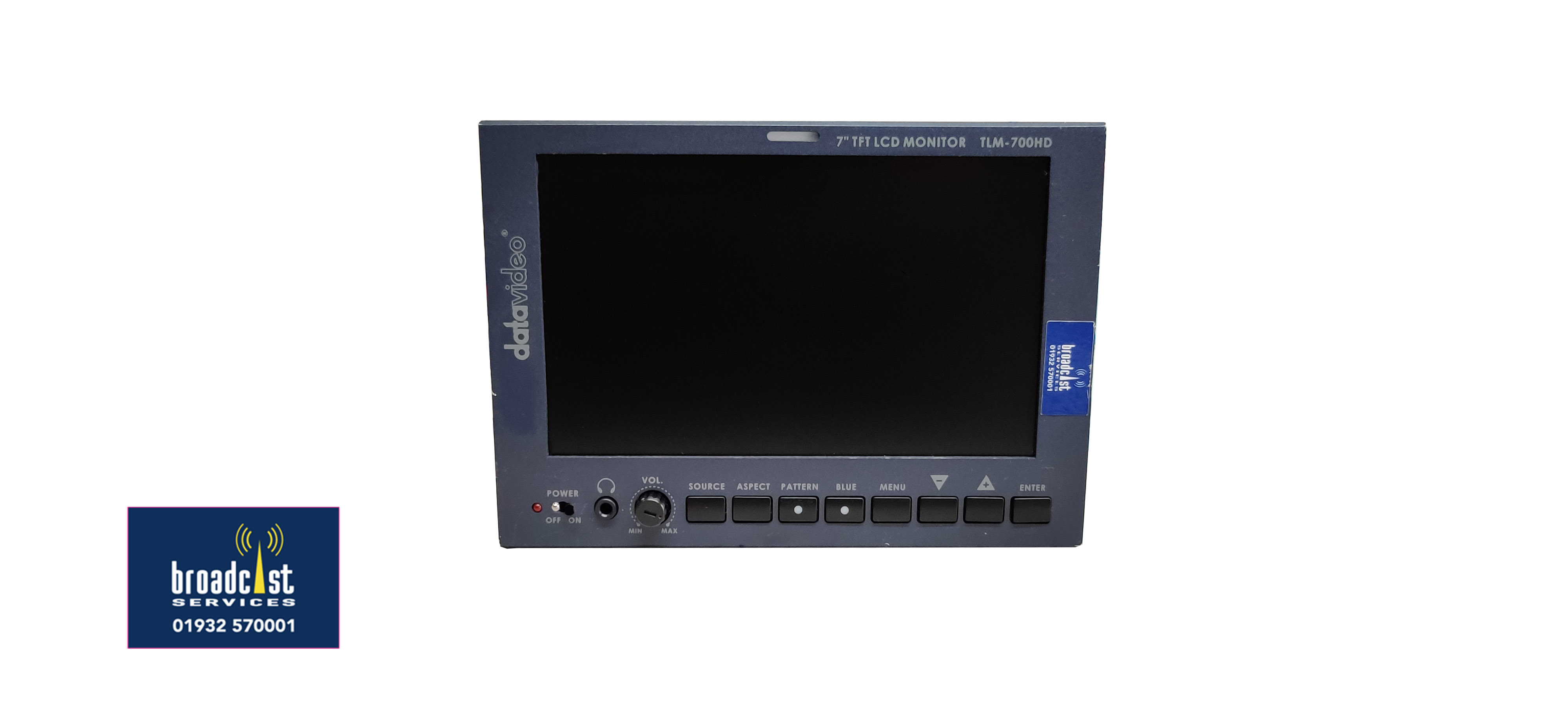Data Video 7 inch Monitor