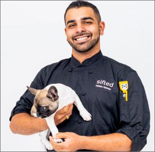 Head Chef Ashwin Kannan