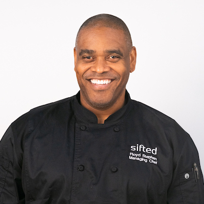 Head Chef Floyd Stephens