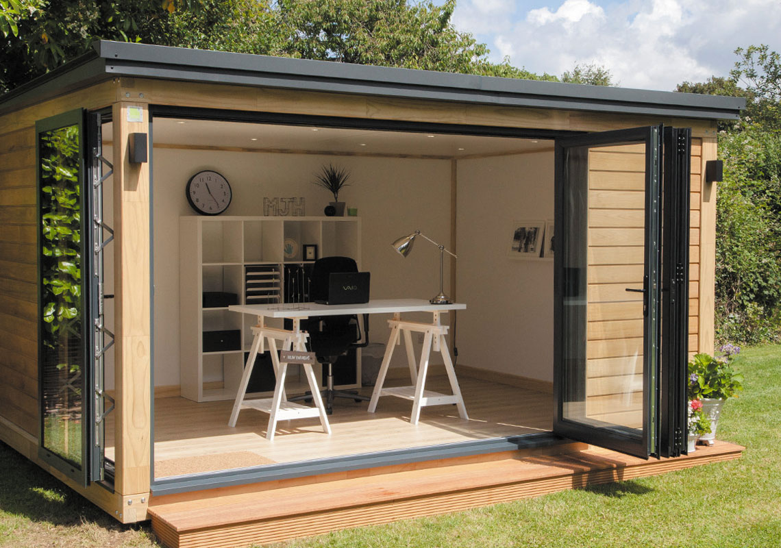 Image depicting Garden Room Installation