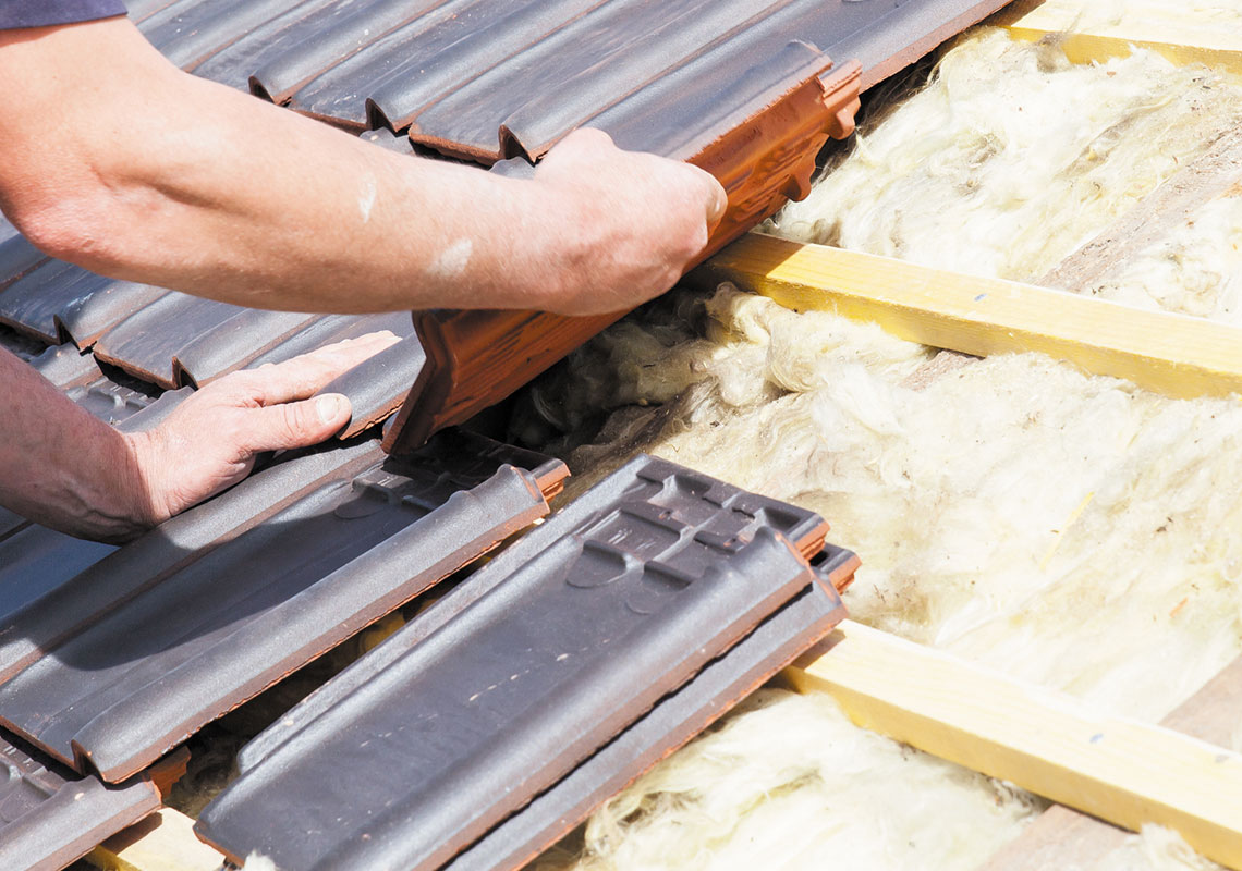 Image depicting roofing repair