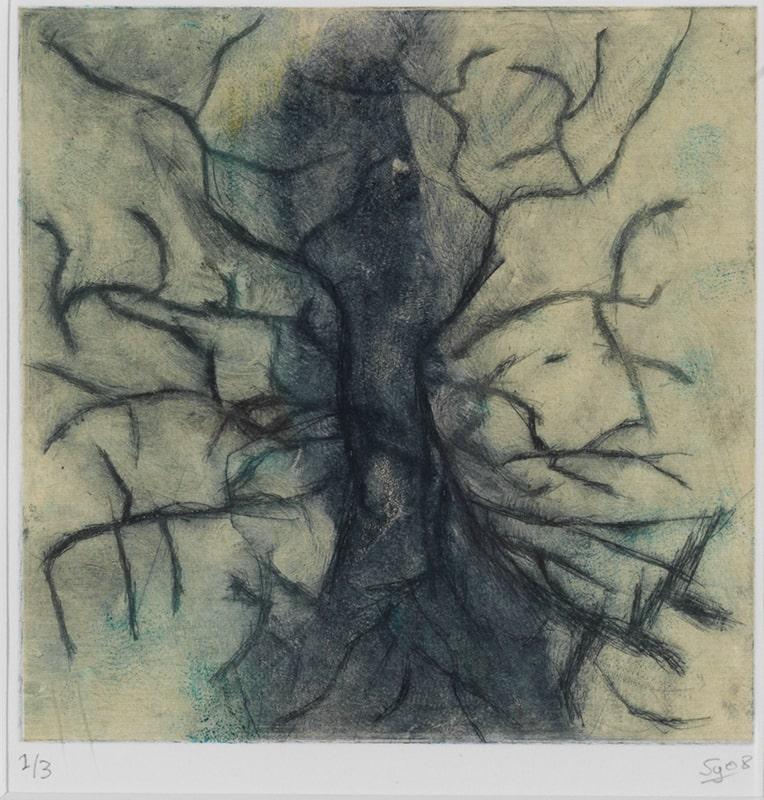 Sylvie Loeb - Peintures & Gravures - Arbre - 3 - Arbre