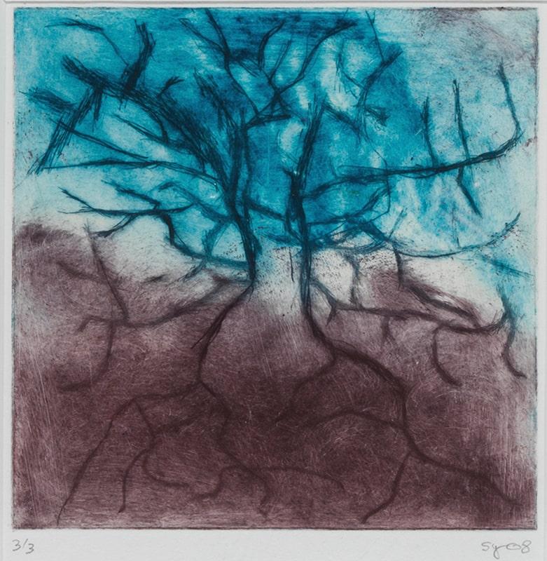 Sylvie Loeb - Peintures & Gravures - Arbre - 4 - Arbre