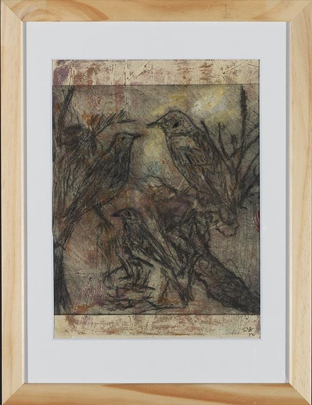 Sylvie Loeb - Peintures & Gravures - Oiseaux - 1 - Oiseaux