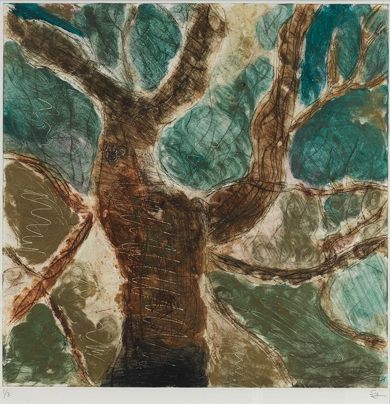 Sylvie Loeb - Peintures & Gravures - Arbre - 18 - Arbre