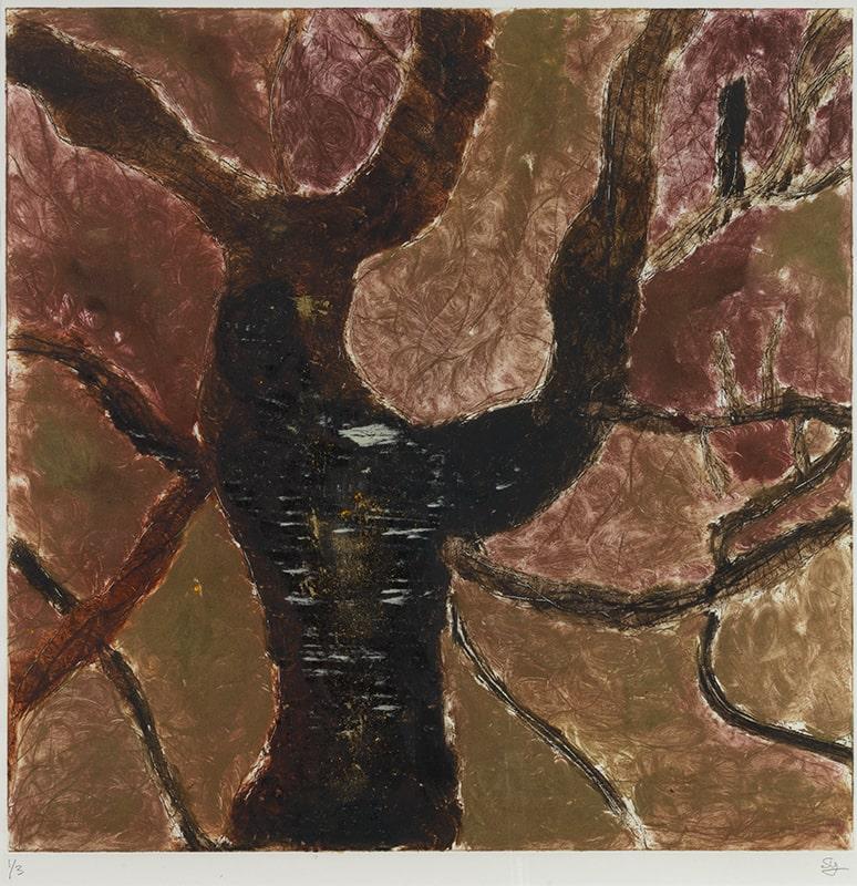 Sylvie Loeb - Peintures & Gravures - Arbre - 17 - Arbre