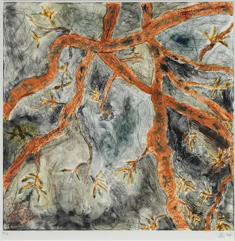 Sylvie Loeb - Peintures & Gravures - Arbre - 19 - Arbre