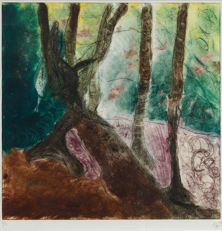 Sylvie Loeb - Peintures & Gravures - Arbre - 21 - Arbre