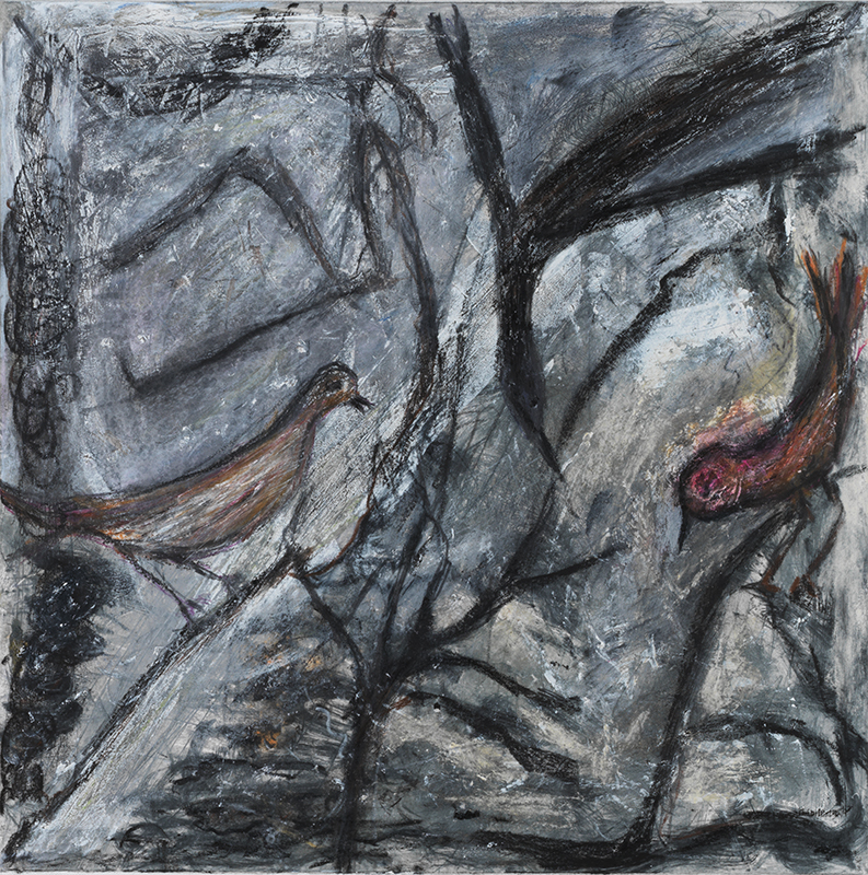 Sylvie Loeb - Peintures & Gravures - Oiseaux - 4 - Oiseaux