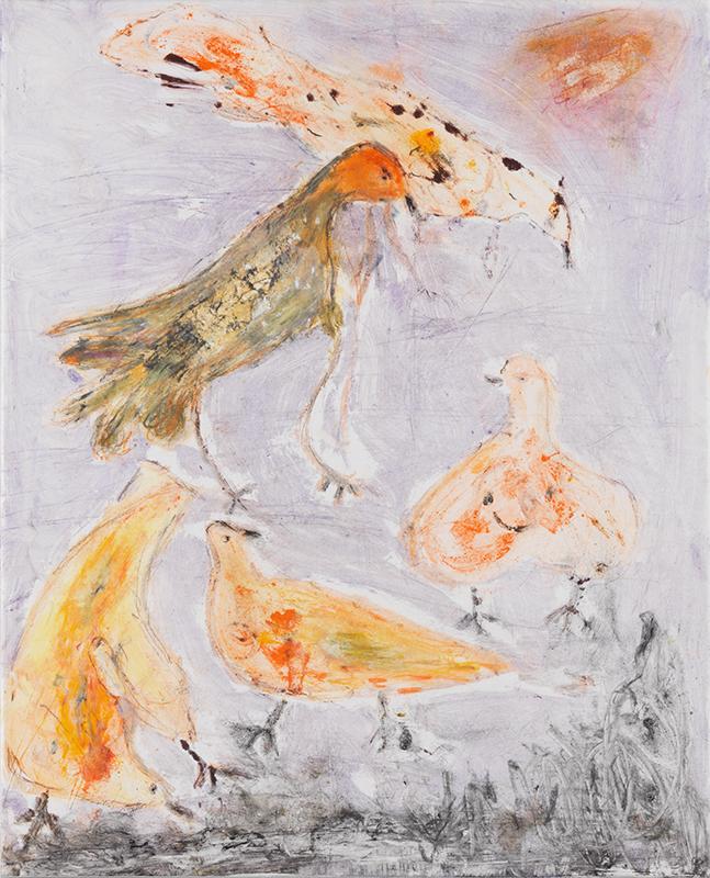 Sylvie Loeb - Peintures & Gravures - Oiseaux - 6 - Oiseaux