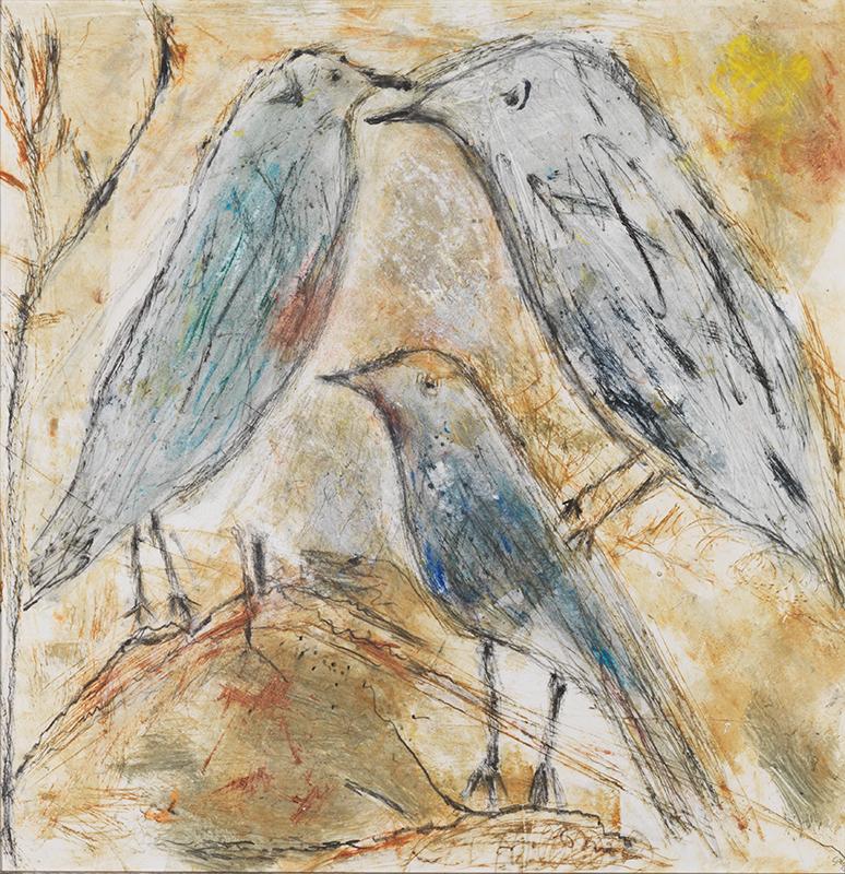 Sylvie Loeb - Peintures & Gravures - Oiseaux - 10 - Oiseaux