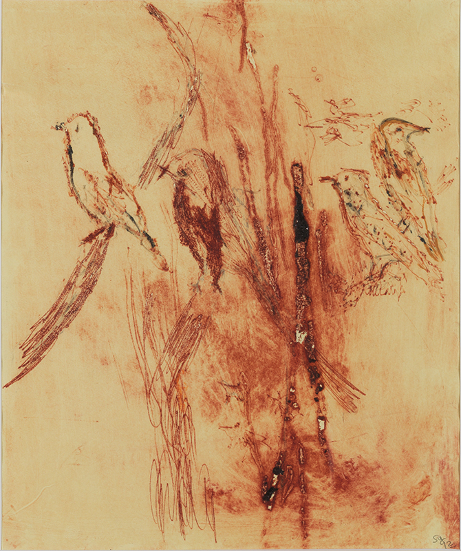 Sylvie Loeb - Peintures & Gravures - Oiseaux - 12 - Oiseaux