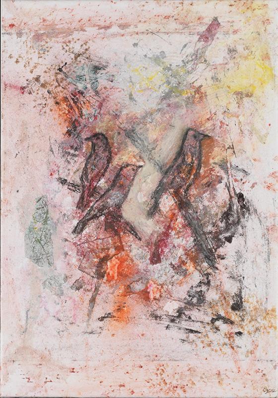 Sylvie Loeb - Peintures & Gravures - Oiseaux - 14 - Oiseaux