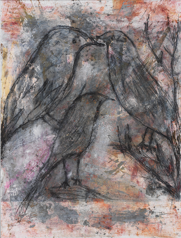 Sylvie Loeb - Peintures & Gravures - Oiseaux - 15 - Oiseaux