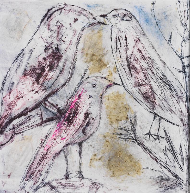 Sylvie Loeb - Peintures & Gravures - Oiseaux - 16 - Oiseaux