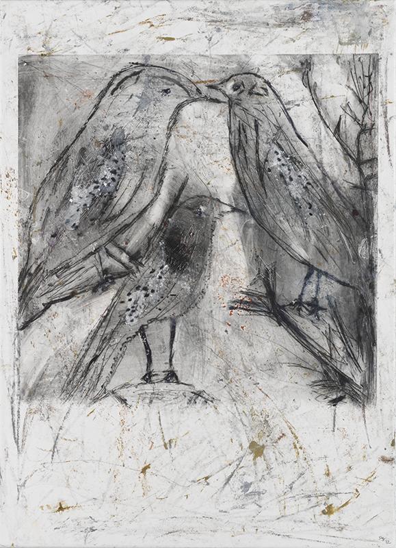 Sylvie Loeb - Peintures & Gravures - Oiseaux - 20 - Oiseaux