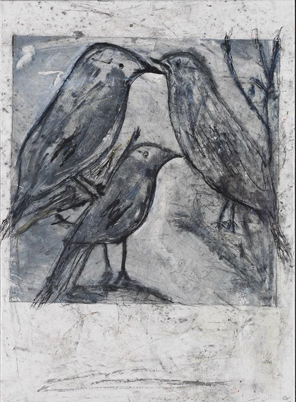 Sylvie Loeb - Peintures & Gravures - Oiseaux - 27 - Oiseaux