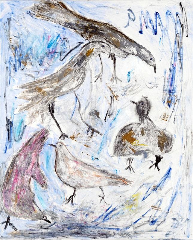 Sylvie Loeb - Peintures & Gravures - Oiseaux - 28 - Oiseaux