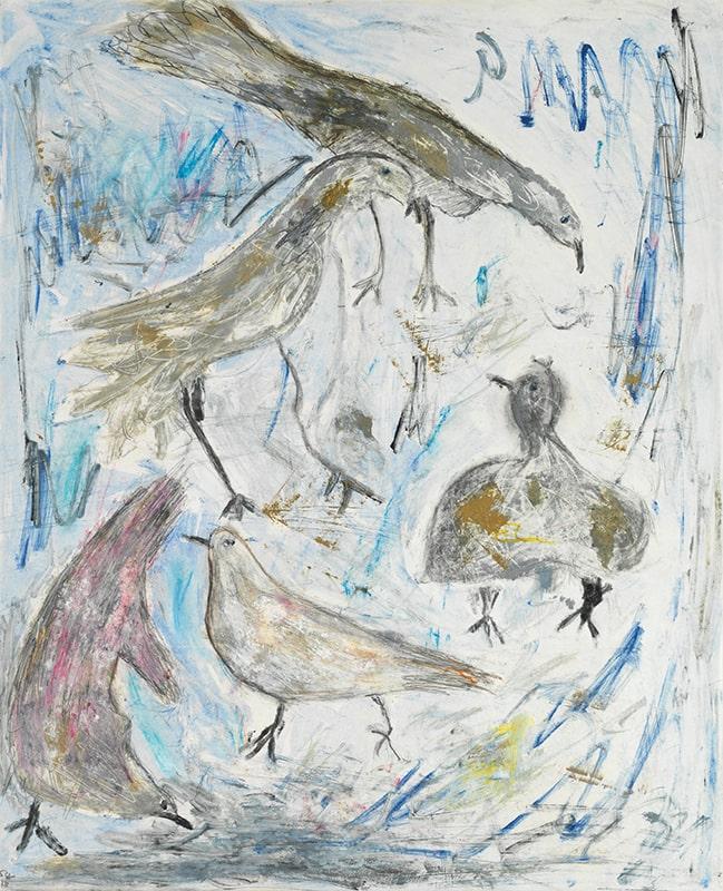 Sylvie Loeb - Peintures & Gravures - Oiseaux - 29 - Oiseaux