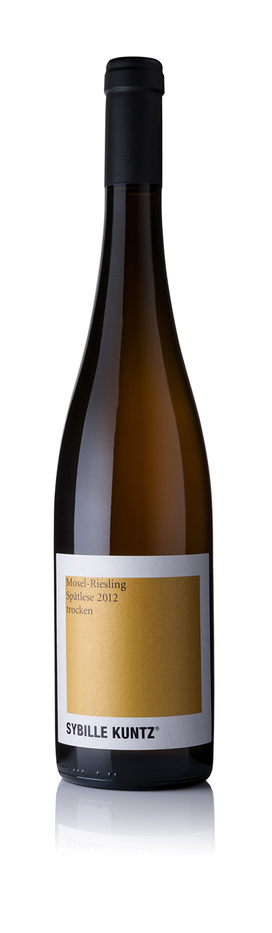 2012 SYBILLE KUNTZ Mosel-Riesling Spätlese trocken 0,75 l
