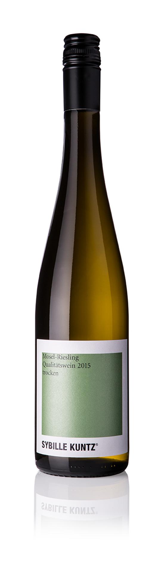 2015 SYBILLE KUNTZ Mosel-Riesling Qualitätswein trocken 0,75 l