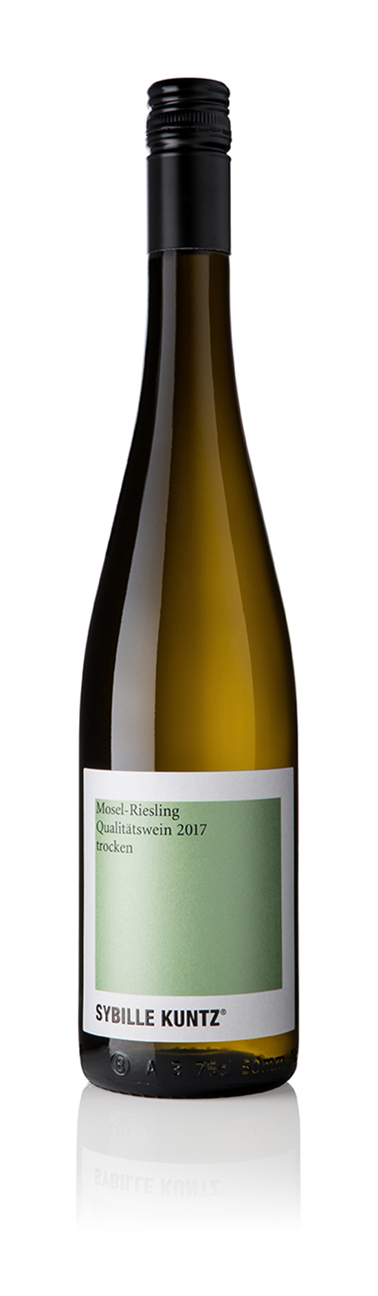 2017 SYBILLE KUNTZ Mosel-Riesling Qualitätswein trocken 0,75 l