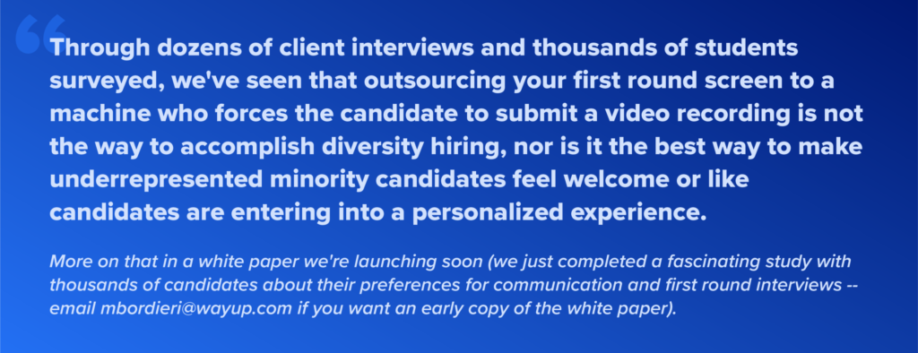 washington post the future of work liz wessel wayup diversity