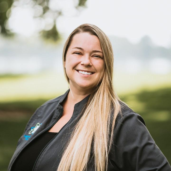 Headshot of Front Office worker Rachel Cameron
