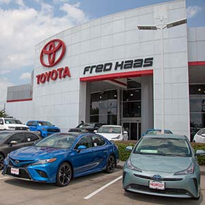Fred Haas Toyota World storefront photo