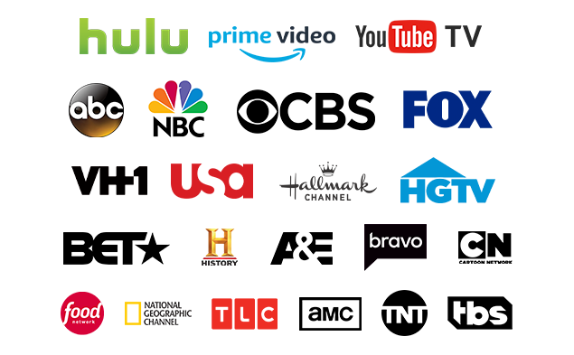 Premium media networks available to you on Amplifi by The Moran Group.