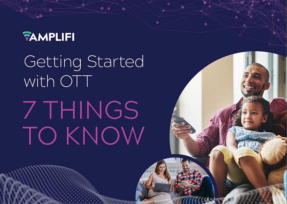 eBook cover. Getting started with OTT... 7 things to know.