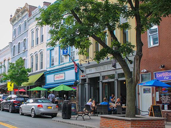 Main Street in Nyack, New York