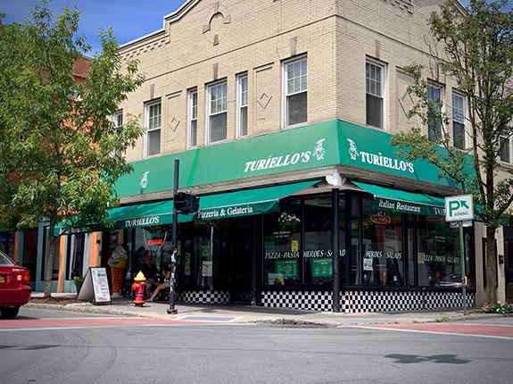 Turiello's restaurant in Nyack, New York
