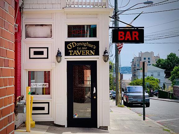 O'Donoghue's restaurant in Nyack, New York
