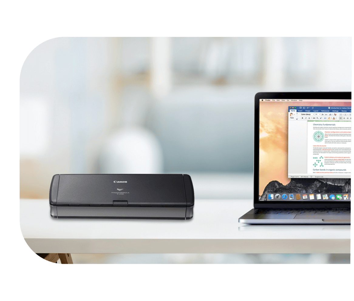 Canon desktop document scanner