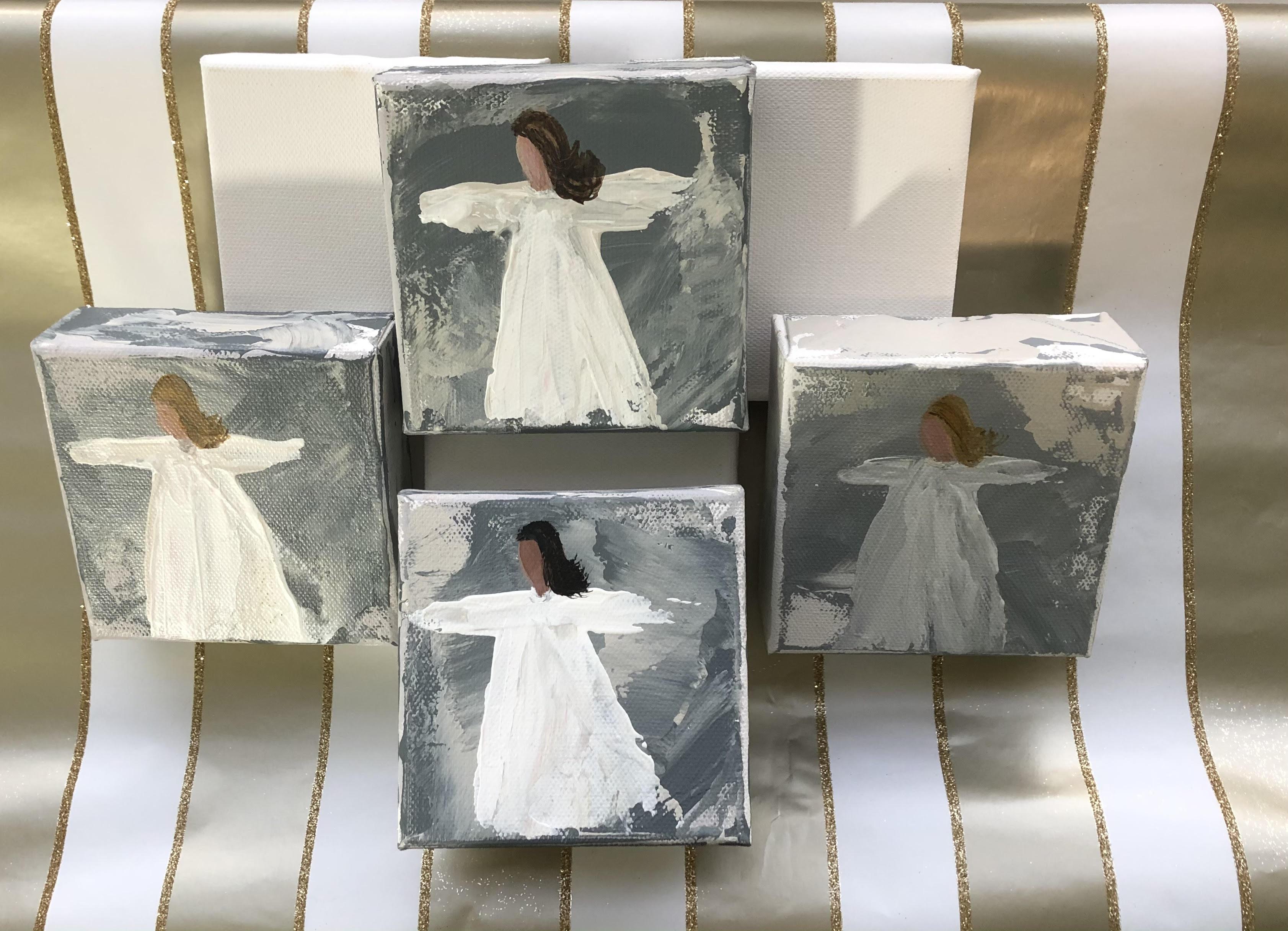 Angel Paintings (Pair)