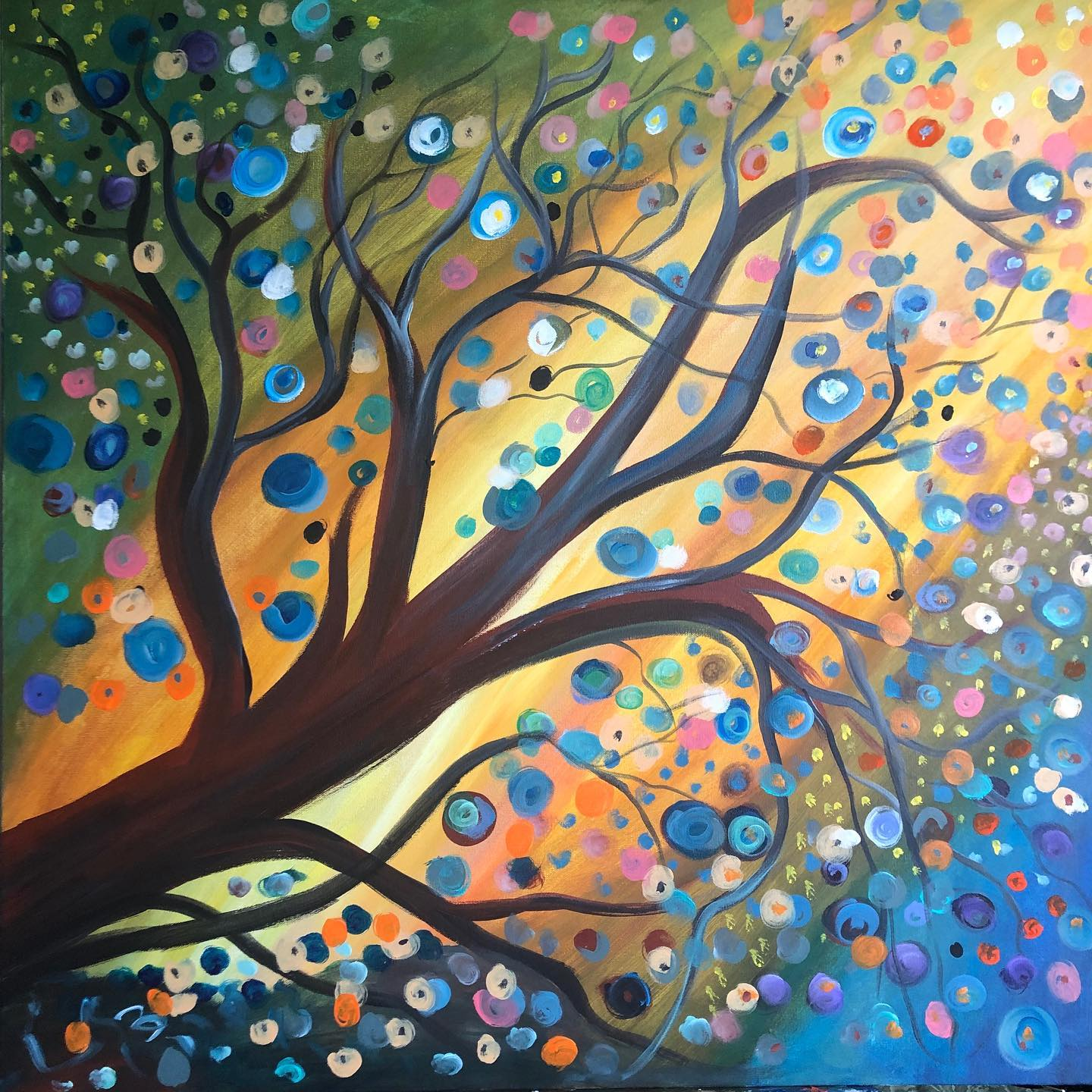 Whimsical Tree Video + Supplies