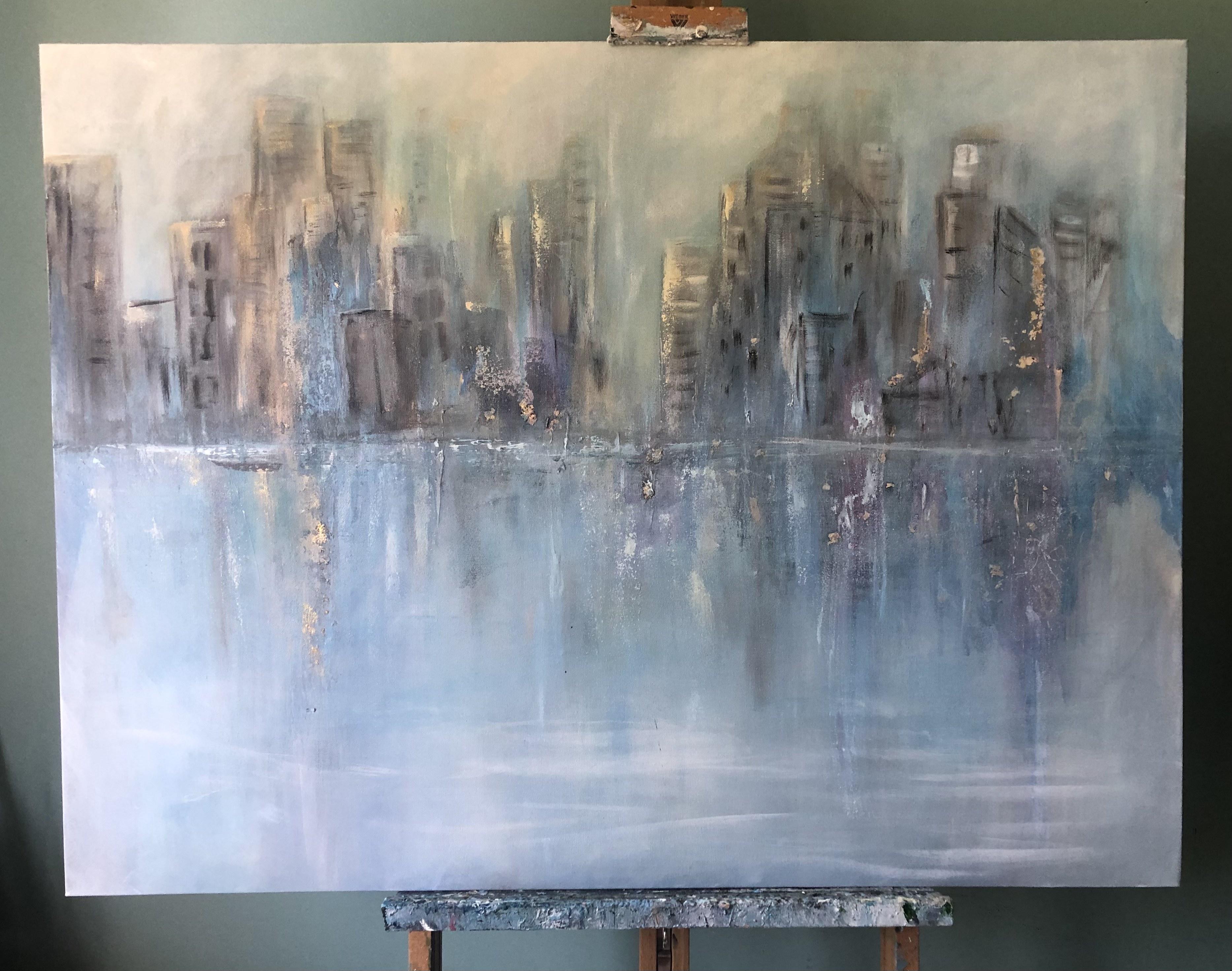 "City painting 30""x40"""