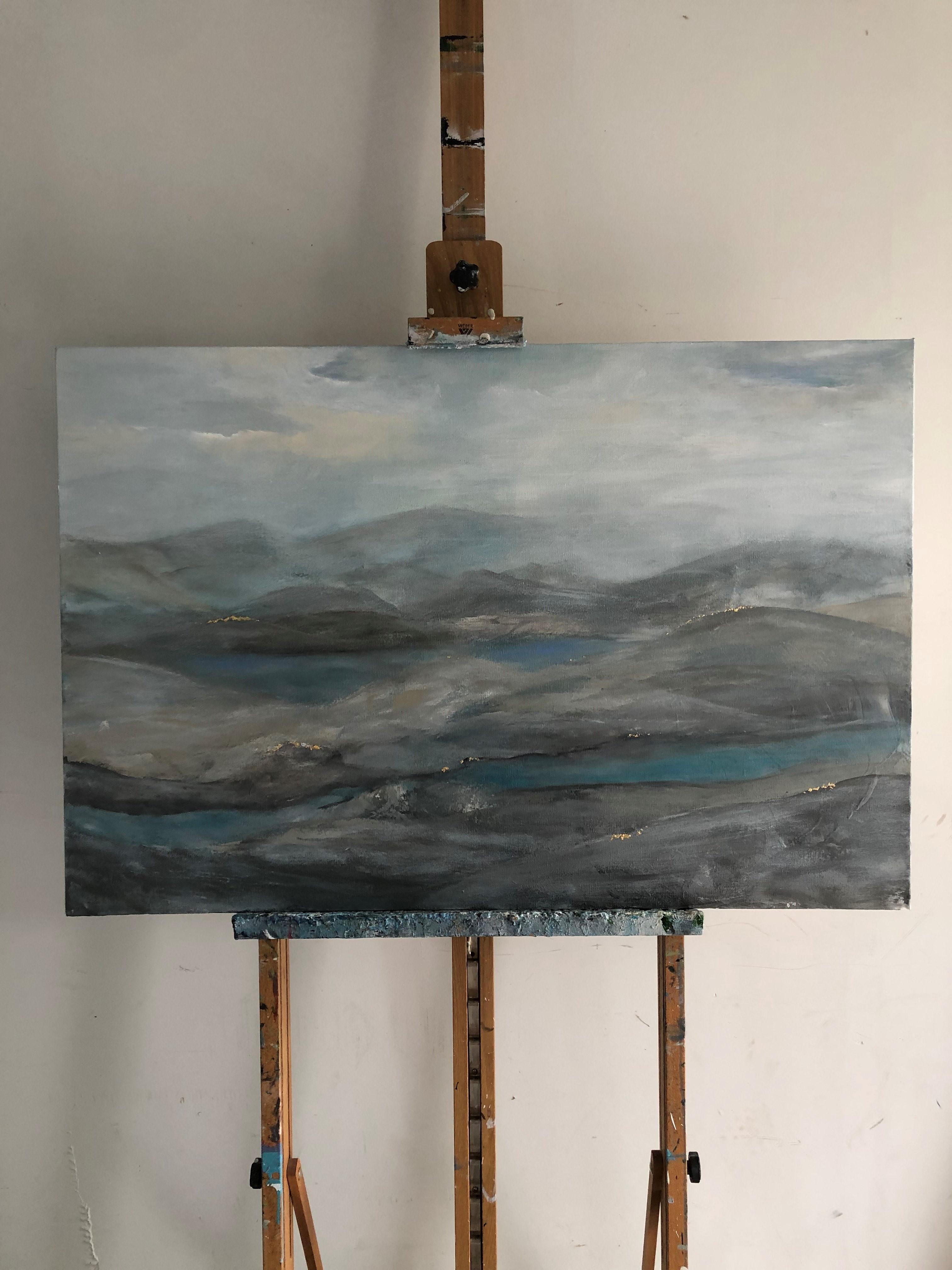 """Blue Ridge Mountains 24""""x36""""x1.5"""""""