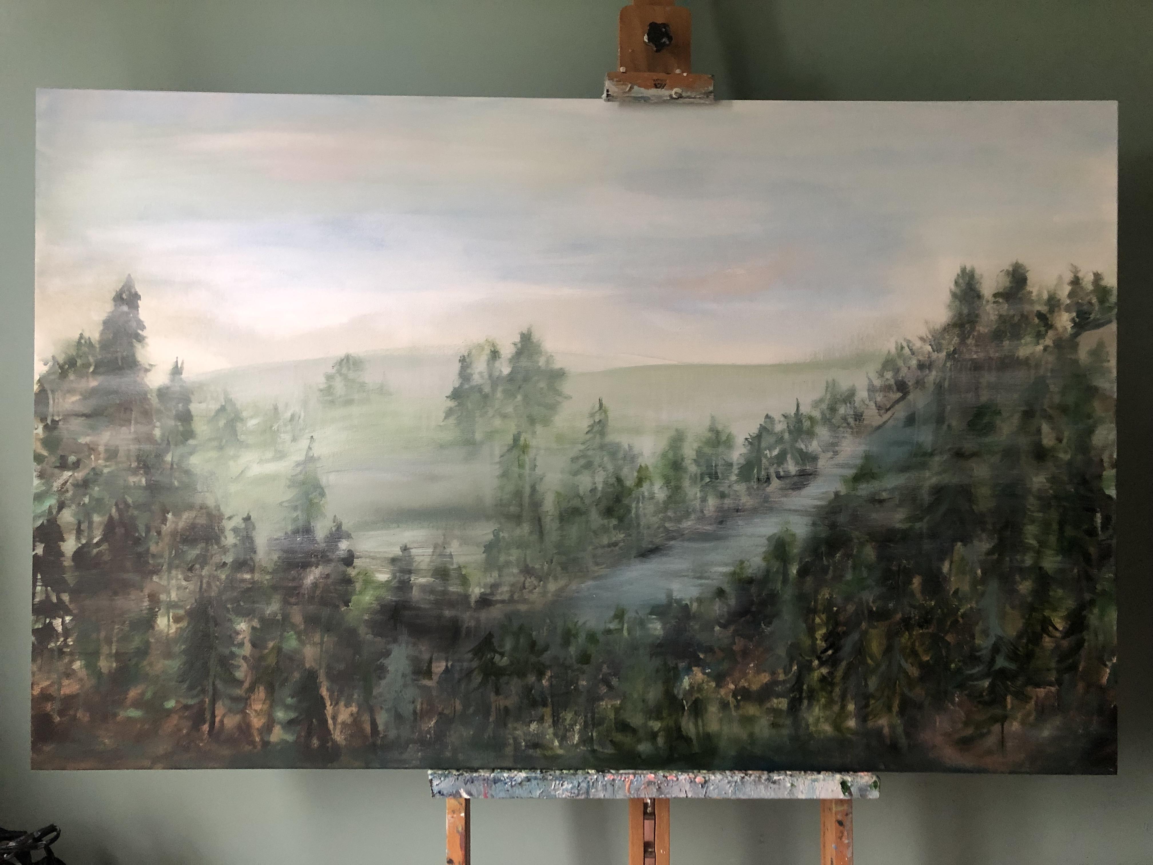 Morning Fog 36x48x1.5